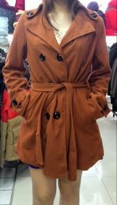 Longcoat Wool Wanita – MJ039