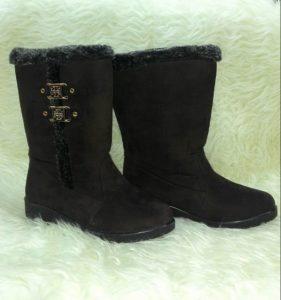 Sepatu Suede Winter Wanita – MJ029