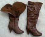 Sepatu Kulit Winter Wanita – MJ016