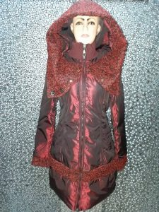 Longcoat Bulu Angas Wanita – MJ009